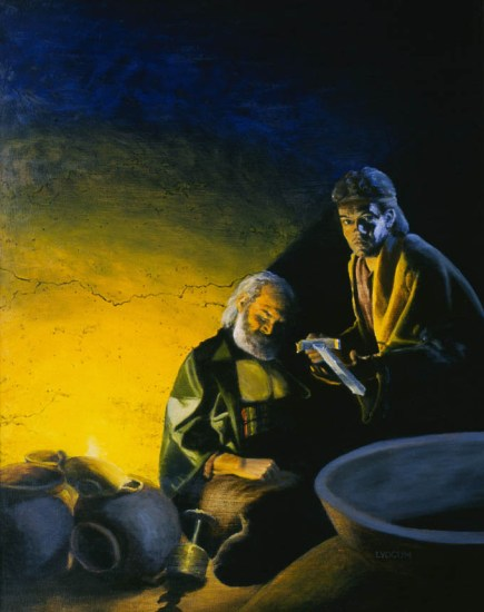 Nephi and Laban