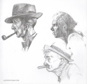 Sketch of Some Rockwell Males