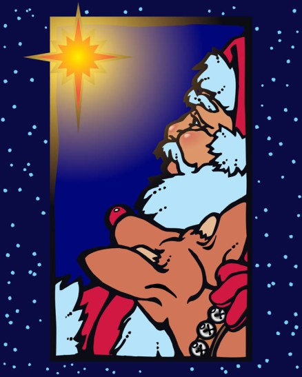 Santa and the Star