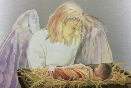 Watching Over the Newborn Lord Featured
