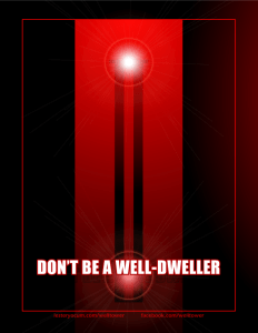 Welltower Poster: Well-dweller