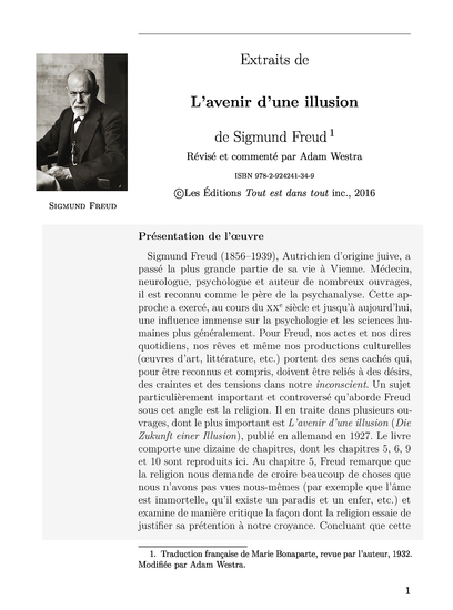 L Avenir D Une Illusion : avenir, illusion, L'Avenir, D'une, Illusion, Textes
