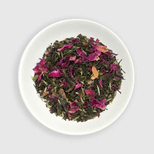 Thé vert parfumé de Nouvelle-Zélande