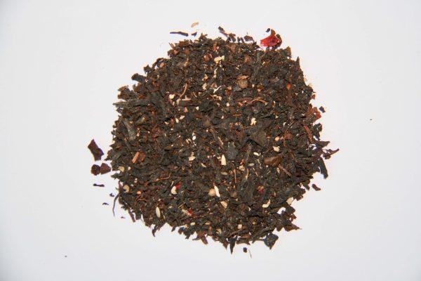 Thé noir organique du Sri Lanka mélangé aux épices du Jardin d'Amba