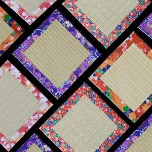 Support de théière en tatami