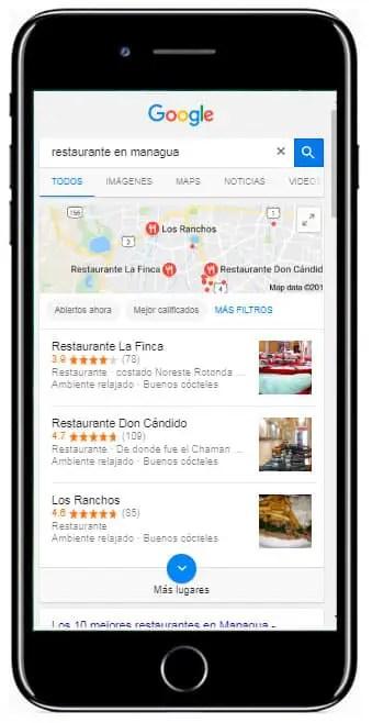 restaurantes en managua