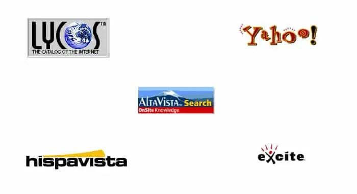 excite altavista Yahoo logo