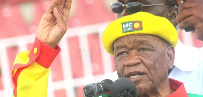 Thabane admits party problems