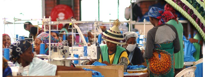 Textiles sales from Kenya and Lesotho jumped from $359 million in 2001 to $991 million in 2014.