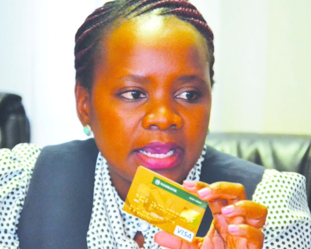 Nedbank Marketing Manager Mampine Rabatho explains the features of the credit card