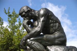 Rodin, Il pensatore (foto di steven n fettig)