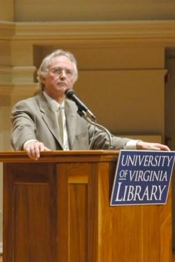 Richard Dawkins alla University of Virginia (novembre 2006)