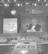 Giorgio Israel al meeting di CL
