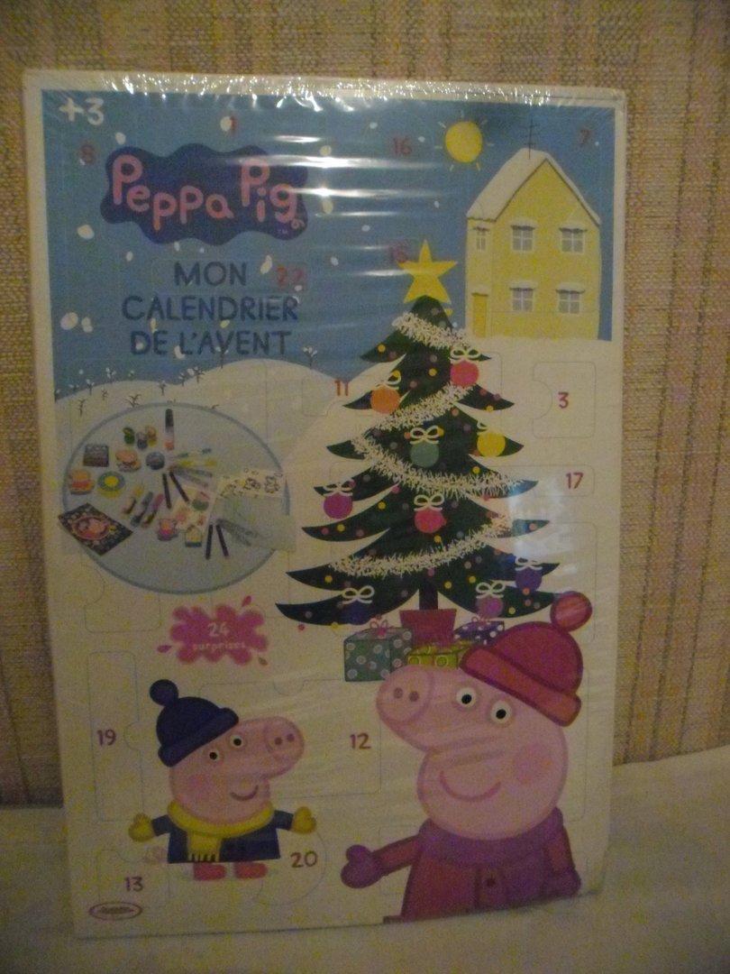 Calendrier De L'avent Peppa Pig : calendrier, l'avent, peppa, Calendrier, L'avent, Peppa, Trésors, Saturne