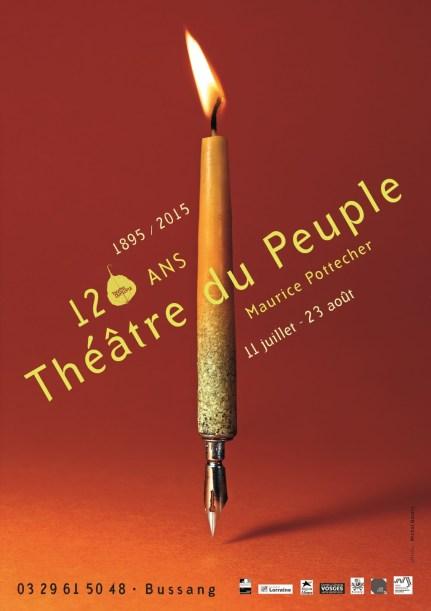 Théâtre du Peuple, visuel 2015