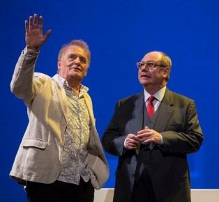 Didier Flamand (François-Marie Banier) et Jérôme Deschamps (Patrice de Maistre) © Michel Cavalca