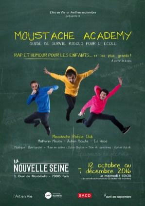 « Moustache Academy» ©StellaK