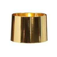 Large Metallic Gold Lamp Shade - Les Trois Garcons Interiors