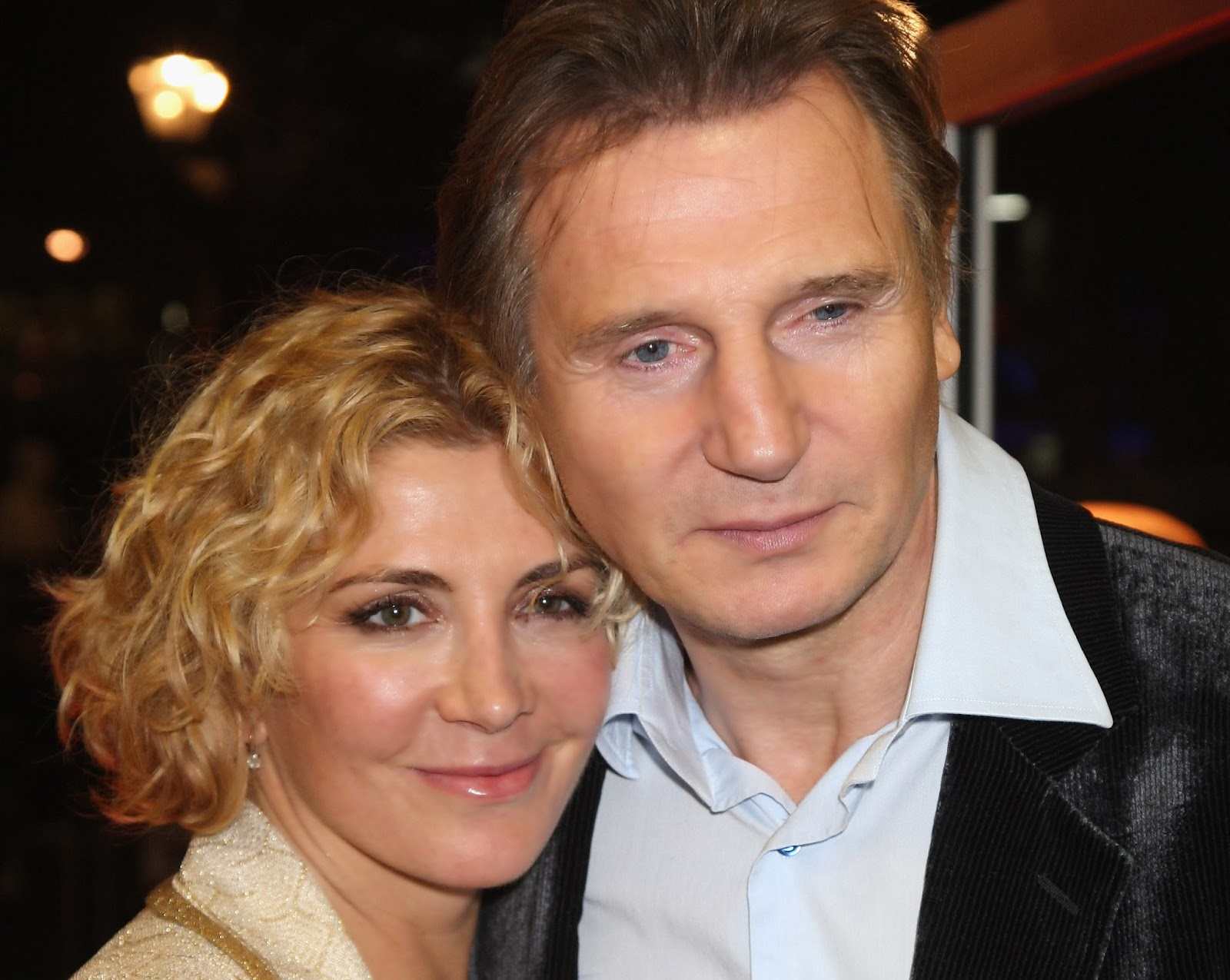 Liam Neeson Anderson Cooper Natasha Richarson et une histoire de ski  _____LE STUDIO1