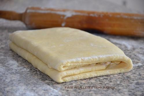 pâte feuilletée semi rapide de Mercotte