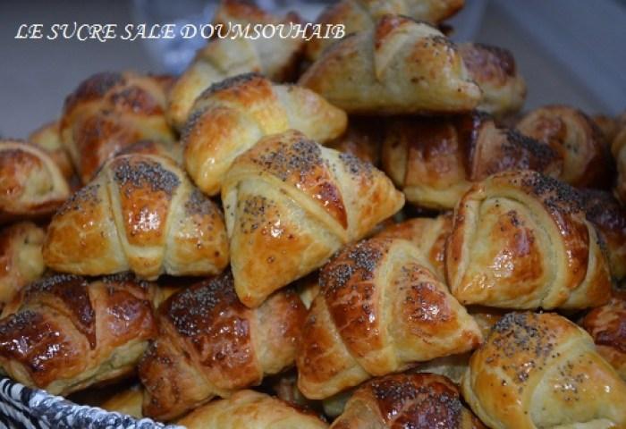 Croissants Viande Hachée Nouveau Façonnage Le Sucré Salé Doum Souhaib