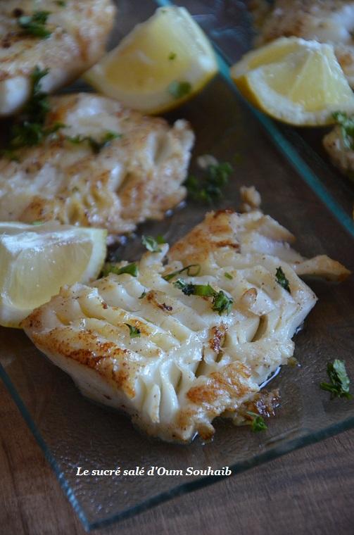 Cuisson Dos De Cabillaud Poele : cuisson, cabillaud, poele, Filet, Cabillaud, Poêle, L'huile, D'olive, Sucré, Salé, D'Oum, Souhaib