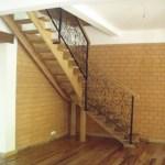escalier dans la nouvelle niche