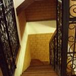 l'escalier.