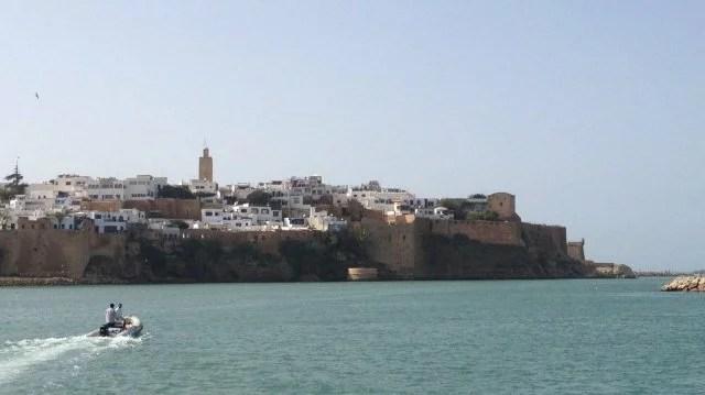 Kasbah des Oudayas, vue du fleuve Bouregreg