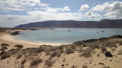 Lanzarote, vue de Graciosa