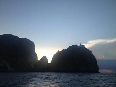 Pontine, Ponza, Punta della Guardia