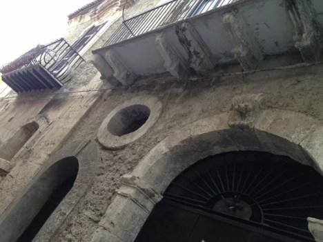 Licata, façade