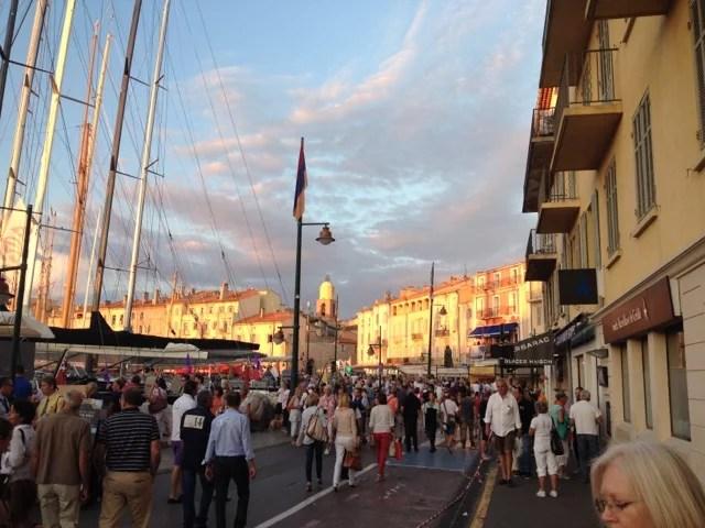 Saint Tropez au couchant
