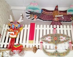Cerfs-volants chinois et malaisiens