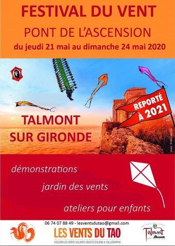 affiche festival cerf-volant 2020 reporté à 2021