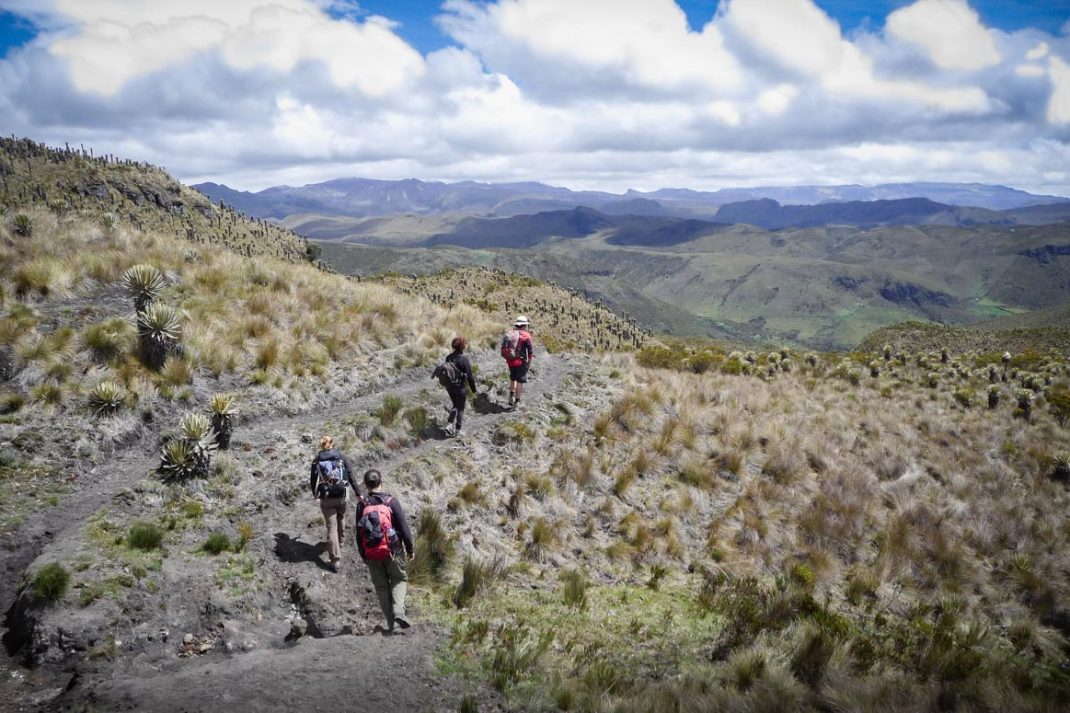 trek au pac los nevados blog voyage en colombie