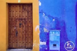 Mur de Couleur à Cartagena en Colombie