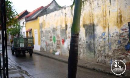 Rue à Gestemani, Cartagena en Colombie