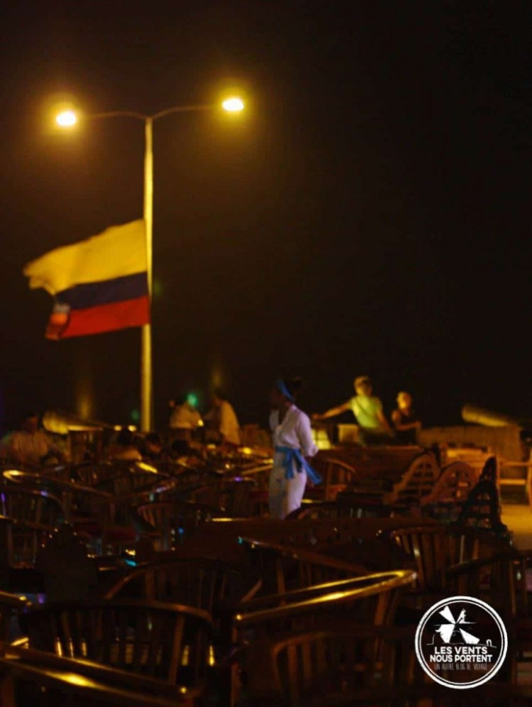 Cafe del Mar, Cartagena en Colombie
