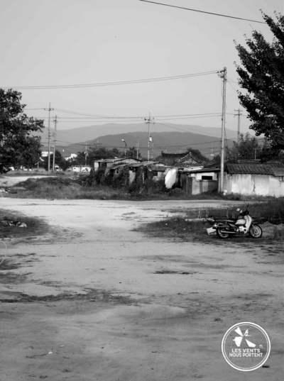 Terrain vague Gyeongju Coree-du-sud