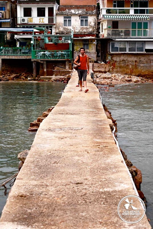 Jetée Lamma Island Hong Kong