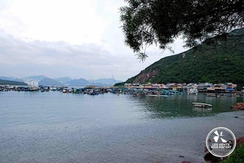 Village de pêcheur à Lamma Island Hong Kong