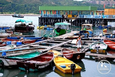 Village de pêcheur Lamma Island Hong Kong