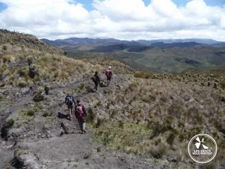 Randonneurs Los Nevados Colombie