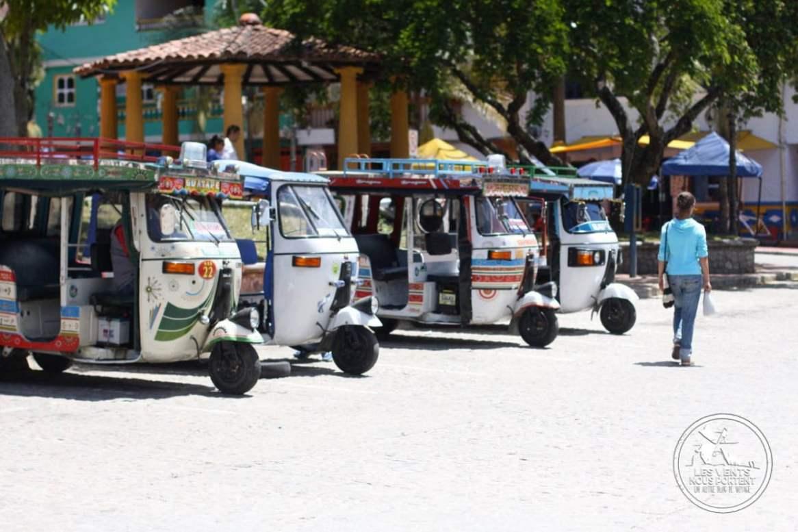 Taxi Touriste Guatape Colombie