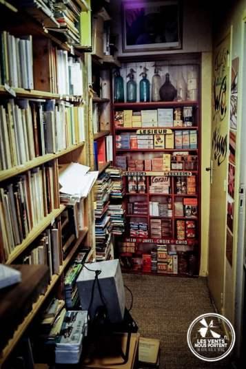 Vintage Librairie Ailleurs Montolieu Village du Livre France