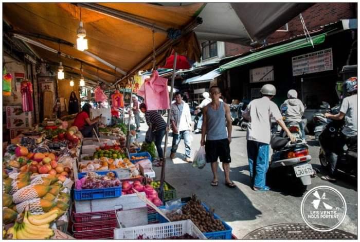 marchés de Tapei Tamsui Voyage Taiwan