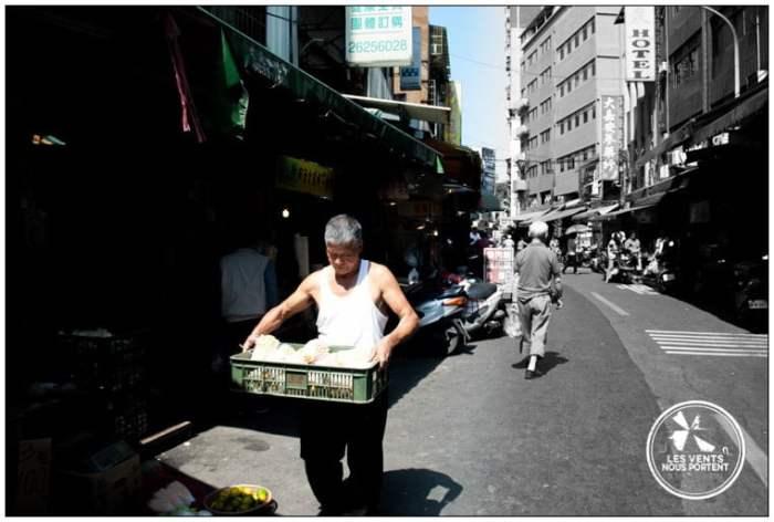 Marchés de Taipei Tamsui Voyage Taiwan