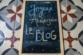 Joyeux anniversaire le blog de voyage
