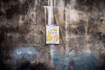 Street Art sur un mur d'Istanbull